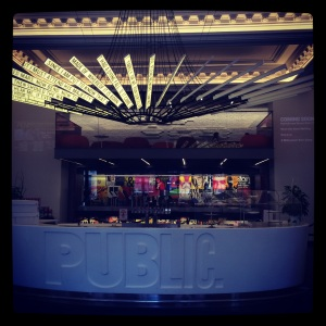 The fabulous Public Theater on Lafayette Street