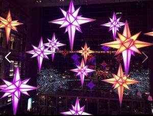 Time Warner holiday lights